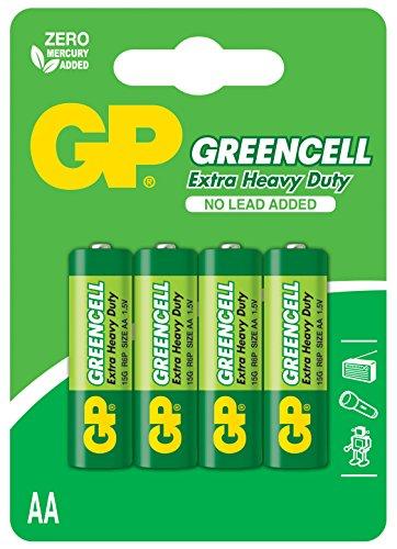 GP Battery VD5565 Set 4 Pile, Multicolore