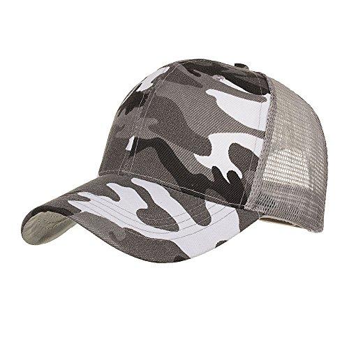 Pwtchenty Cappellini da Baseball Mimetica,Berretto Uomo E Donna Estivi Cappello di Addestramento Militare per La Protezione Solare Visiere