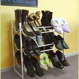 Estante metálico para zapatos (18espacios)