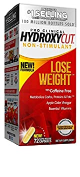 Weight Loss Pills for Women & Men   Hydroxycut Non Stimulant Pro Clinical   Non Stim Weight Loss Supplement Pills   Apple Cider Vinegar to Lose Weight   Metabolism Booster for Weight Loss 72 Capsules