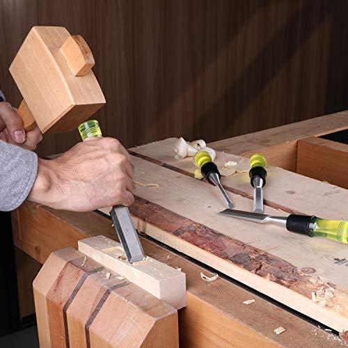 Hurricane 4-pc Wood Chisel Set
