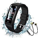 Smartwatch Orologio con Auricolare Sportivo Bluetooth, Smart Bracelet Activity...