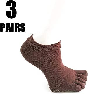 Calzini in Cotone Calze Bassi Caviglia Antiscivolo per 2-4 Bambino Multicolore