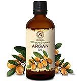Argan Aceite 100ml - Argania Spinosa Kernel - Marruecos - 100% Puro y Natural - Cuidado para Сabello - Pelo - Piel - Rostro - Cuerpo - Argan Oil 100ml