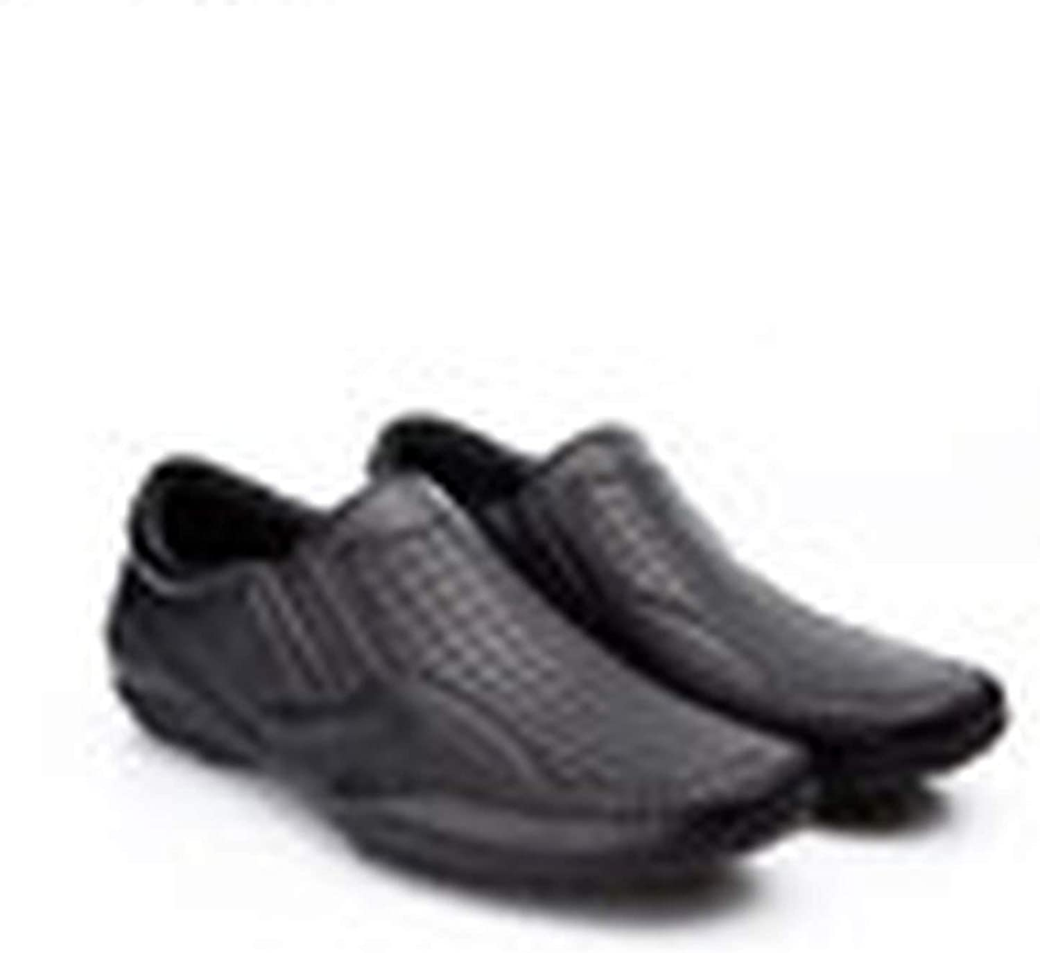 Brand Fashion Spring Men Flats Men Casual shoes Slip-on Mocassins Black Men Loafers