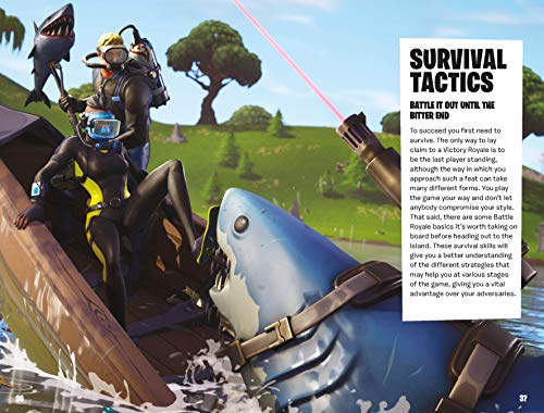 FORTNITE Official: The Battle Royale Survival Guide (Official Fortnite Books)