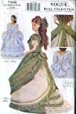 Vogue 7398 - 11.5-Inch Fashion Doll Clothes Patterns - 1870 & 1880 (Vogue Doll Collection, Also sold as Vogue 745 and Vogue 7557)