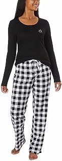 Calvin Klein Womens 2 Piece Fleece Pajama Set