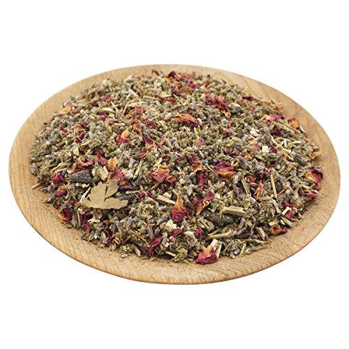 K W Kräuter-Mischung Schutz und Segen - zum hochwertigen Räuchern und Auffrischen nach der energetischen Reinigung, 50 Gramm, ca, 250 ml