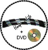 Hooping4Life Gewichteter Hula-Hoop-Reifen mit Anleitungen auf CD, 101,6 cm Durchmesser, 625 g,...