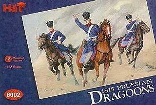 Napoleonic 1815 Prussian Dragoons & Horses (24) 1-72 Hat