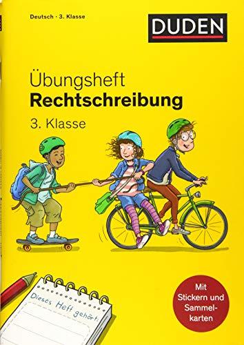 Duden Übungsheft - Rechtschreibung 3.Klasse (Übungshefte Grundschule)