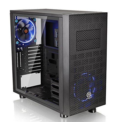 Thermaltake Core X31 TG Edition Midi-Tower Negro - Caja de Ordenador