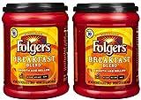 Gusto fresco di Folgers caffè, miscela per colazione, caffè macinato liscio e morbido, sapore...