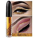 chifans Glitter Eyeliner Set, Metallic Shiny Eyeliner, Colorful Eyeliner Sequins Flashings, Glitter Liquid Eyeliner, Waterproof Sparkling & Shimmer Eyes Makeup effective feasible pretty good
