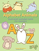 Alphabet Animals: Illustrated Alphabet Book for Toddlers