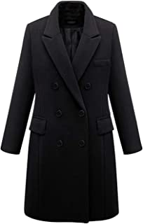 Autumn Winter New Large Size Women's Clothing Long Woolen Cloth Coat Women Jacket Winter Wool Blends