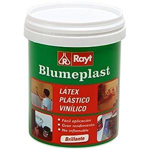 Rayt 156-09 Blumeplast M-10: Látex plástico, imprimación y sellador de superficies de yeso, cemento, estuco, madera, cerámica, puzzles. Enriquecedor de pinturas. Secado transparente, 1kg
