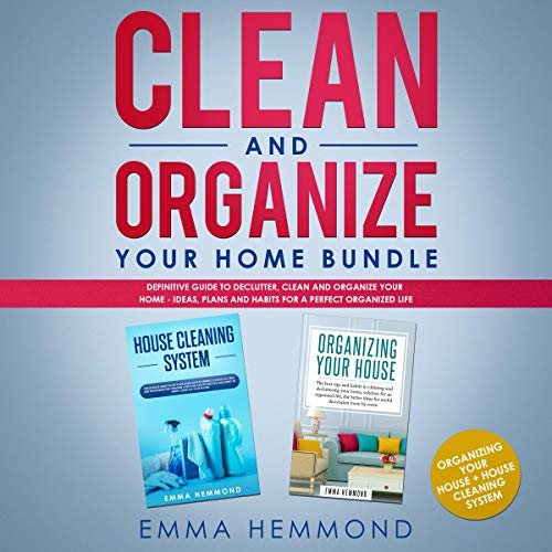 Clean and Organize Your Home Bundle cover art