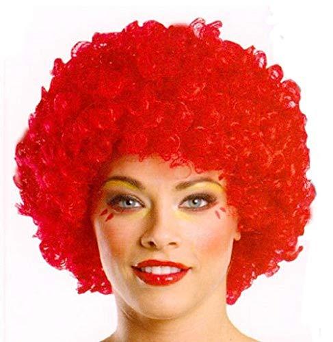 Peluca - Payaso - Payaso - - es - Halloween - Carnaval - Cosplay - Disfraz - Rojo - Idea de Regalo Clown Cosplay
