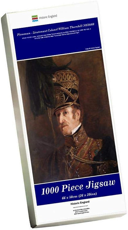 Media Storehouse 1000 Piece Puzzle of Pieneman  LieutenantColonel William Thornhill N070460 (4572031)
