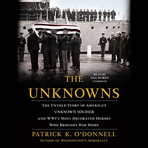 The Unknowns audiobook cover art