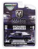 2018 Dodge Ram 2500 Power Wagon Pickup Truck Metallic Dark Purple Hobby Exclusive 1/64 Diecast Model Car by Greenlight 30016