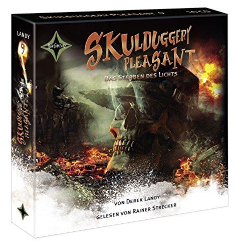 Skulduggery Pleasant - Folge 9: Das Sterben des Lichts. Gelesen von Rainer Strecker, 10 CDs Cap-Box, ca. 14 Std. (Skulduggery Pleasant, 9)