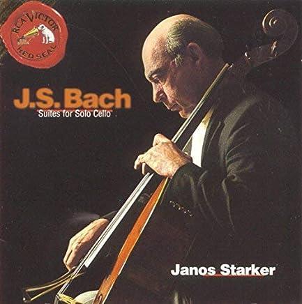 进口CD:史塔克:巴赫无伴奏大提琴组曲 Complete Suites For Solo Cello(2CD)09026614362