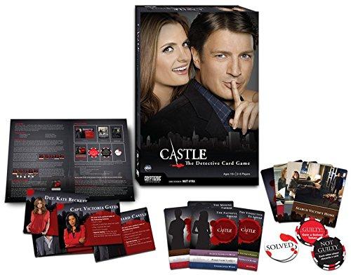 Castle: Detective Game - Juego de Mesa (en inglés): Amazon.es: Juguetes y juegos