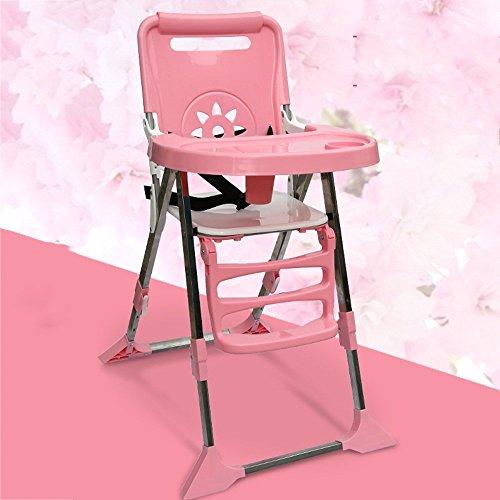 LJHA ertongcanyi Chaise à Manger Portable Soulever BB Tabouret Pliant Multifonctionnel Chaise de Salle à Manger Manger Chaise Tabouret 3 Couleurs en Option (Couleur : C)