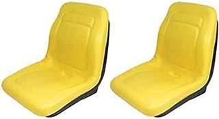Two (2) New John Deere Yellow Gator Seats 18