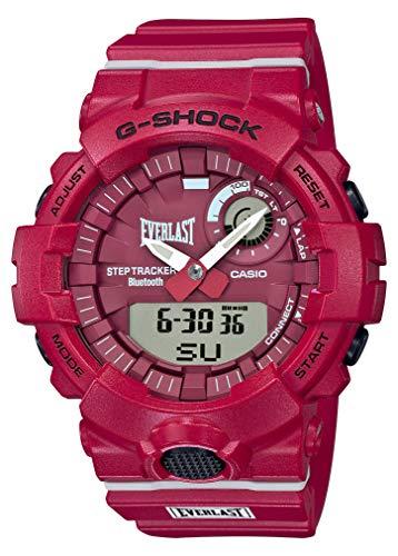 [カシオ] 腕時計 ジーショック EVERLASTコラボレーションモデル GBA-800EL-4AJR メンズ レッド