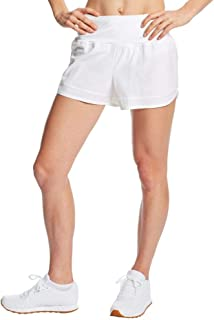 "C9 Champion Women's 3.5"" Knit Premium Running Shorts, True White, XS"