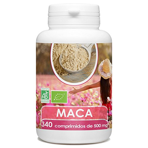 Maca en Comprimidos - Orgánica - 500mg - 340 comprimidos