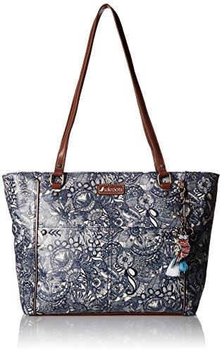 Sakroots womens Women's Metro Top Handle Handbag, Navy Spirit Desert, One Size US
