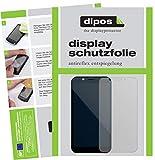 dipos I 2X Schutzfolie matt kompatibel mit Shift Shift6m Folie Bildschirmschutzfolie
