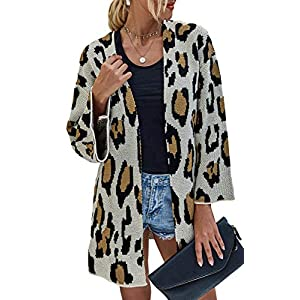 Women's  Kimono Cardigan with Pockets Long Sleeve Open Front Casual K...