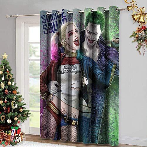 51bk2aRI-WL Harley Quinn  Curtains