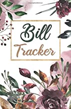 Bill Tracker: A Monthly Bill Payment Tracker book , small pocket size for Expense Checklist / Bookkeeping / Budget Finance...