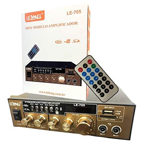 Amplificador de Som com Bluetooth Lelong LE-705