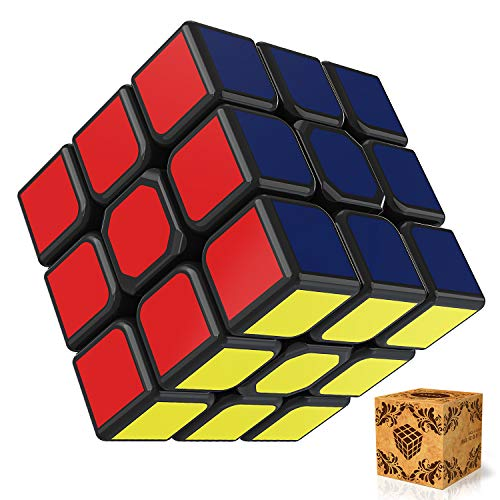 günstig SPLAKS Magic Cube 3x3x3 Original Magic Cube Ein Würfel mit drehzahlverstellbaren Rotationseigenschaften… Vergleich im Deutschland