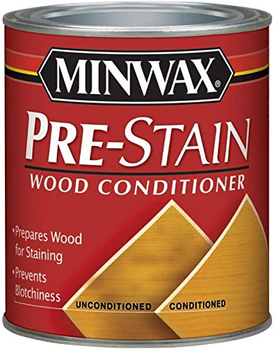Minwax 61500444 Pre Stain Wood Conditioner, 1 Quart,Clear 1