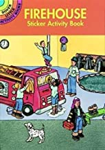 Firehouse Sticker Activity Book (Dover Little Activity Books Stickers)