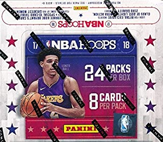2017/18 Panini Hoops NBA Basketball MASSIVE 24 Pack Factory Sealed Retail Box with AUTOGRAPH & 192 Cards! Look for Jayson Tatum, Donovan Mitchell & More! Loaded!