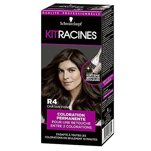 Schwarzkopf - Kit Racines - Coloration Racines Cheveux Permanente - Enrichie d'une huile...