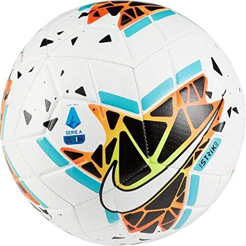 Nike SA NK STRK-FA19, Pallone da Calcio Unisex Adulto, White/Black/Blue Fury/White, 4