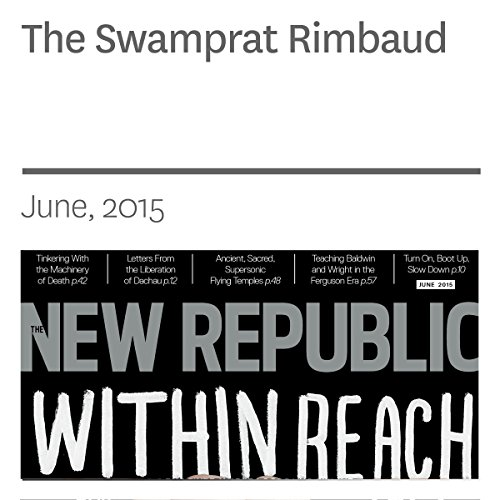 The Swamprat Rimbaud audiobook cover art