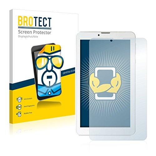 "BROTECT Schutzfolie kompatibel mit i.onik TM3 Serie 1-7"" (2 Stück) klare Bildschirmschutz-Folie"