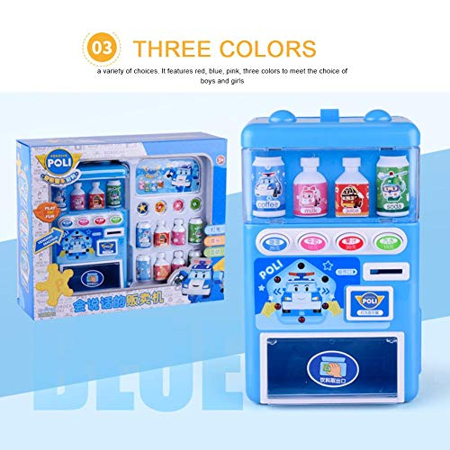 Niños Máquina expendedora electrónica Juguete simulado Máquina expendedora Juguete Rompecabezas Beber Pretender Juego de juguetes Educación infantil